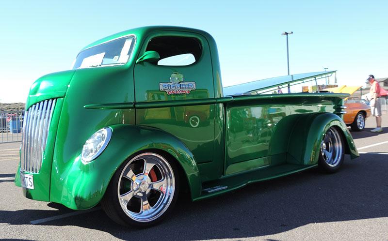 custom truck - side