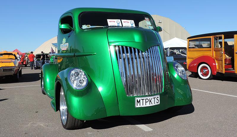 custom truck - front